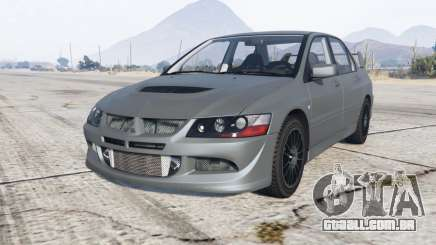 Mitsubishi Lancer Evolution VIII MR 2004 para GTA 5