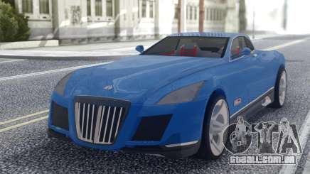 Maybach Exelero Coupe para GTA San Andreas