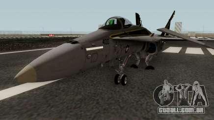 FA-18C Hornet VFA-25 AA-400 para GTA San Andreas