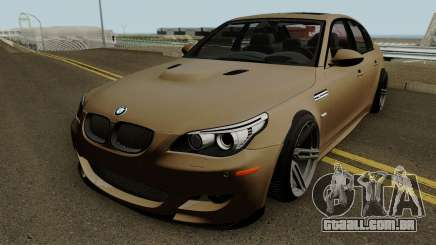 BMW M5 E60 High Quality para GTA San Andreas