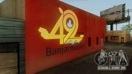 492 Anniversary Of Banjarmasin City Wall para GTA San Andreas