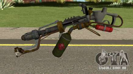 New Flamethrower HQ para GTA San Andreas
