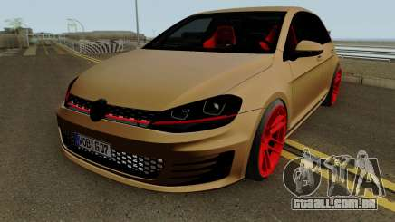 Volkswagen Golf 7 GTI SlowDesign para GTA San Andreas