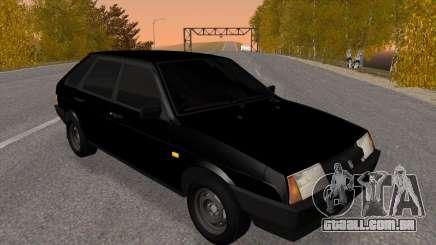 2109 Preto matizado para GTA San Andreas