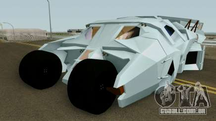 BatMobile HQ para GTA San Andreas