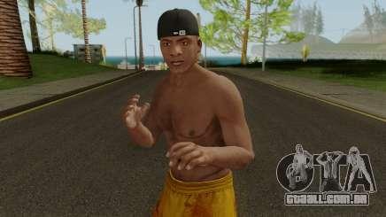 Skin Franklin V1 GTA V para GTA San Andreas