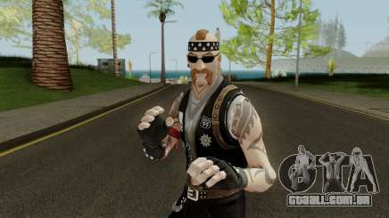 Fortnite Biker Skin - Backbone para GTA San Andreas