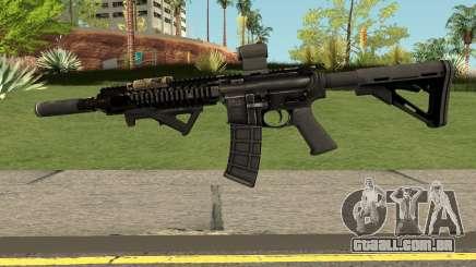 M4 from MOH:W para GTA San Andreas