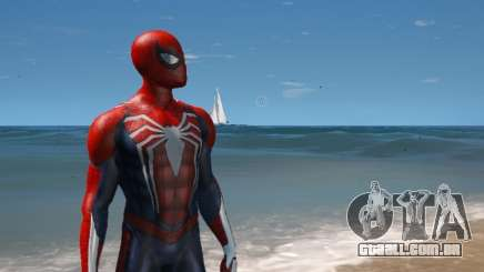Spiderman PS4 4k 2.0 para GTA 5