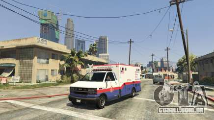 Spawn Emergency Vehicles Menu 0.4 Beta para GTA 5