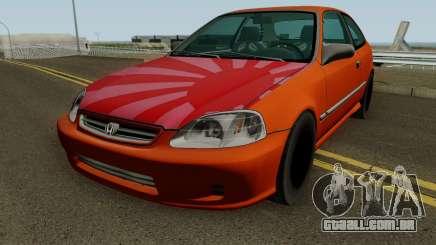 Honda Civic EK9 Low Poly para GTA San Andreas