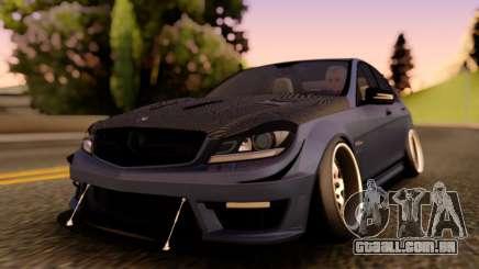 Mercedes-Benz C63 Street para GTA San Andreas