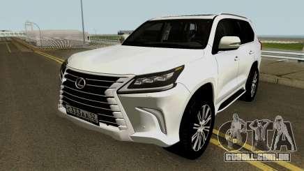 Lexus LX 570 HQ para GTA San Andreas