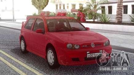 Volkswagen Golf IV Red para GTA San Andreas