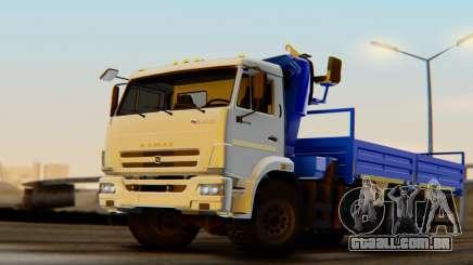 KAMAZ 43118-3049-46 CMU FORMIGA 22-2 LPcars para GTA San Andreas