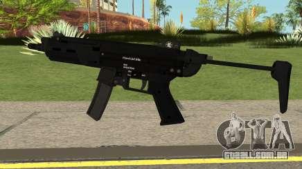 New MP5 HQ para GTA San Andreas