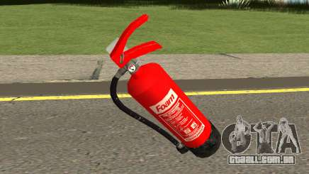 New Fire Extinguisher HQ para GTA San Andreas