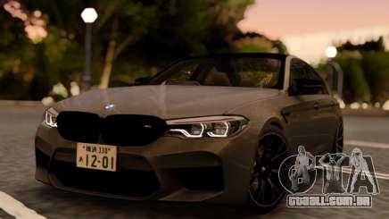 BMW M5 F90 RHD para GTA San Andreas