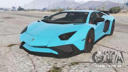 Lamborghini Aventador LP 750-4 SV (LB834) 2015 para GTA 5