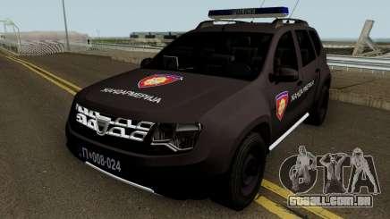 Dacia Duster Zandarmerija para GTA San Andreas