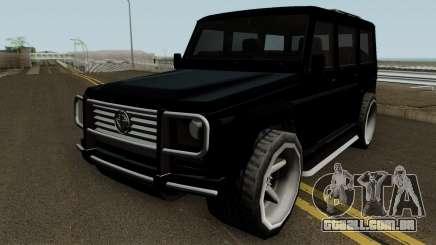 Benefactor Dubsta XS para GTA San Andreas