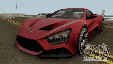 Zenvo ST1 GT 2009 para GTA San Andreas