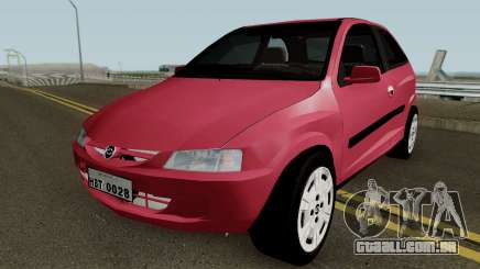 Chevrolet Celta With Paint Jobs para GTA San Andreas