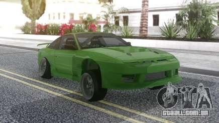 Nissan 180SX Green para GTA San Andreas