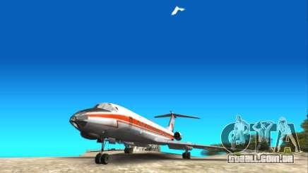 O Lendário Tu-134 para GTA San Andreas