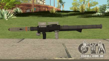 New Rocket Launcher HQ para GTA San Andreas