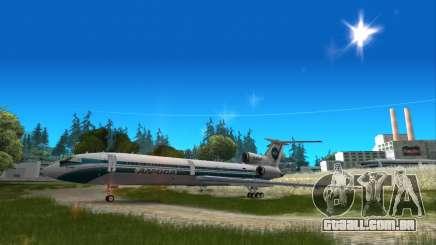 Tu-154 ALROSA lenda Izhma para GTA San Andreas