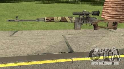 Bad Company 2 Vietnam NDM Sniper para GTA San Andreas