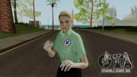 Magyar Noi Rendor Skin para GTA San Andreas
