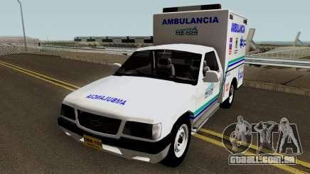 Chevrolet Luv Ambulancia Colombiana para GTA San Andreas