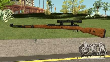 Karabiner 98K Sniper Rifle V2 para GTA San Andreas