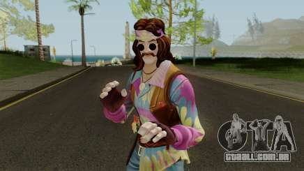 Fortnite Hippie Far Out Man para GTA San Andreas