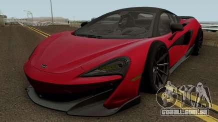 McLaren 600LT 2018 para GTA San Andreas