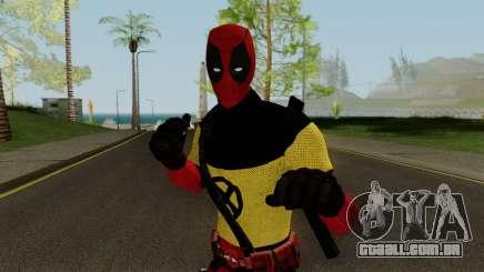 Deadpool With X-Men Shirt From Deadpool 2 para GTA San Andreas
