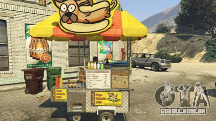 Sell Hotdogs [.NET] 1.0 para GTA 5