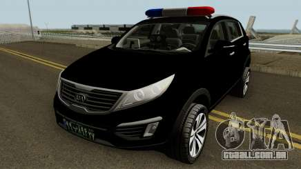 Kia Sportage Police Iran para GTA San Andreas