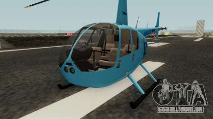 Helicoptero R44 Rave para GTA San Andreas