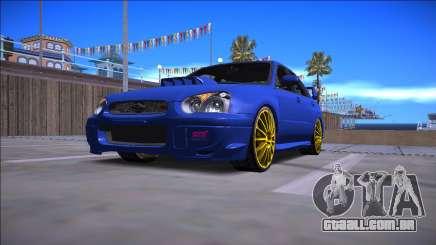 2005 Subaru Impreza WRX STI para GTA San Andreas