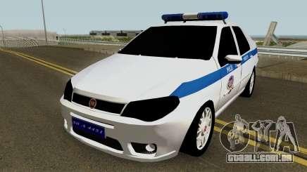 Fiat Albea Turkish Police UnBug para GTA San Andreas