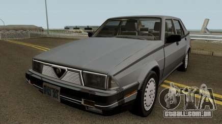 Alfa Romeo Milano 3.0 V6 1987 (US-Spec) para GTA San Andreas