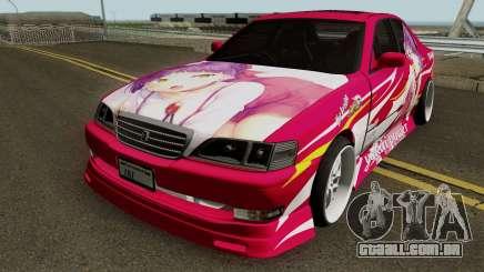 Toyota Cresta JXZ100 Neko Musume Itasha para GTA San Andreas