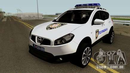 Nissan Qashqai Interventna Jedinica 92 para GTA San Andreas
