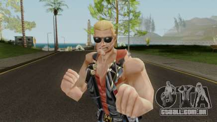 Duke Nukem Skin para GTA San Andreas
