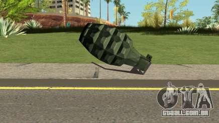 New Grenade HQ para GTA San Andreas