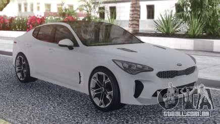 Kia Stinger White para GTA San Andreas