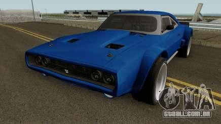 Dodge Charger RT 1968 HQ para GTA San Andreas